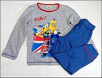 Пижама Minions для мальчиков на 3 и 4 года