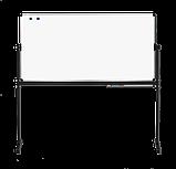 Доска оборотно-мобильная для маркера 120x90 см ABC Office, фото 2