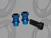 Втулки в маятник Vortex 10mm, синий