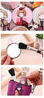 Зеркало для макияжа / зеркальце карманное