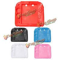 Мягкая силиконовая резина гель бампер крышка случая кожи для Nintendo хромосоме 2ds