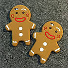 3D Cartoon Gingerbread Man Cookie Biscuit Soft Silicone для iPhone 6/6S, фото 2