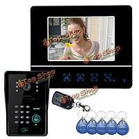Эннио sy811mjids11 новый сенсорный 7-дюймовый видео-телефон двери с кодовой клавиатурой