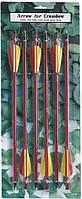 Стрелы 6 шт алюминий Длина 35,56 см, диаметр 9 мм
