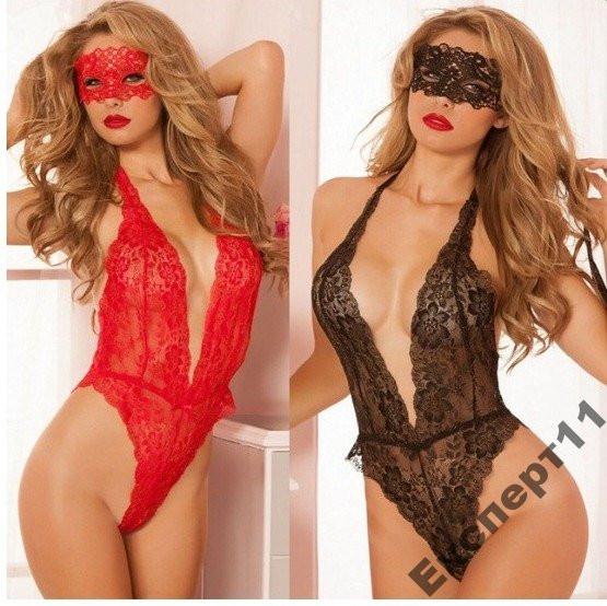 Сексуальное Женское бельё + маска