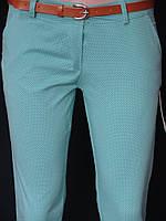 Девичьи брюки в обтяжку