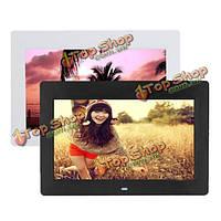 10-дюйма с высоким разрешением TFT-LCD  цифровой фото рамка фильмы MP4 плеер будильник