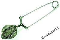 Заварник-щипцы для травяных чаев, с мелкой сеткой