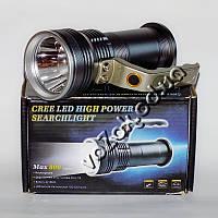 Фонарь походный защищенный 800 Lumen CREE LED Flashlight High Power Searchlight модель 3405 аккумуляторный, фото 1