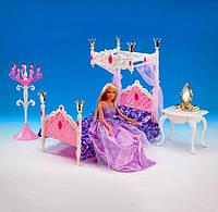 """Мебель для спальни """"Gloria"""" для кукол типа Барби 1214"""