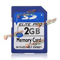 2Гб памяти SD 2Гб ХК Secure цифровых высокой скорости флеш карты памяти для фотоаппарата