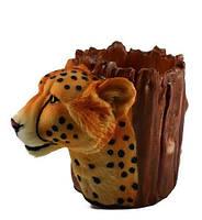 Подставка для ручек леопард 150x110x80