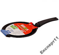 Сковорода БИОЛ 2208П- 22 см блинная  Тефлон