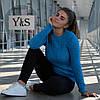 Стильный женский свитерок, лагуна