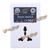 Сотового телефона GSM переключатель дистанционного управления электрический беспроводной умная розетка