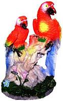Статуэтка попугай цветной с мелодией 90х140х70, фото 1