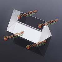 Призма оптическая светового спектра треугольная оптическое стекло 5см