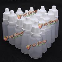 Глаз жидкой капельница 10мл податливый пустые пластиковые бутылки капельницы
