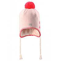 Детская зимняя шапка для девочки Lassie by Reima 728698 - 0110. Размер S, М и L.