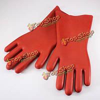12кв перчатки диэлектрические резиновые безопасности электрические защитные перчатки