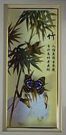 Картина с бабочками по временам года 230х470х40, фото 1