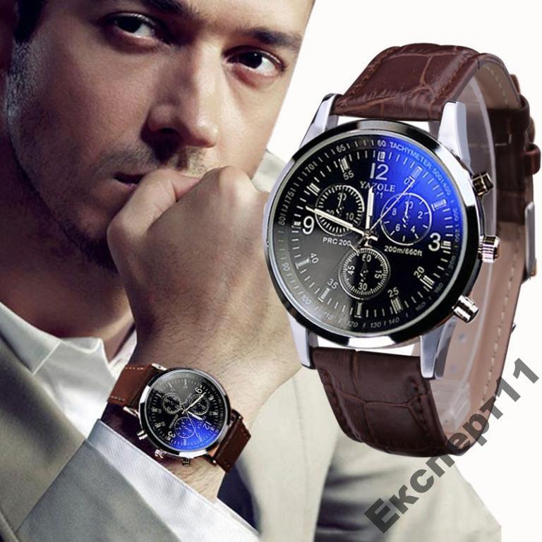 Часы мужские с 4 циферблатами  Хит продаж!