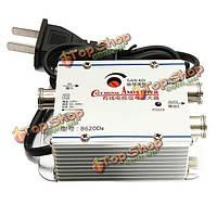 2 способ видеомагнитофон телевизор кабель антенна усилитель сигнала широкополосный усилитель усилитель
