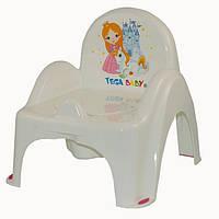 """Горщик Tega крісло """" Princess """" білий"""