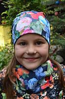 Детские шапки и хомуты