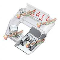Регулируемый уклон подшивки края прижимной лапки швейных машин аксессуары