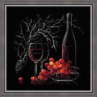 Набор для вышивания крестом «Натюрморт с красным вином» (1239), Риолис