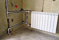 Монтаж и замена стояка отопления