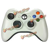 Высокое качество 2.4GHz беспроводной джойстик игровой контроллер для Xbox 360 белый