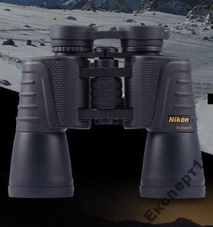 Бинокль Nikon 20x50 поле зрения 65/1000 м