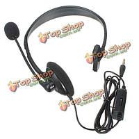 Gaming проводная гарнитура с микрофоном и регулятором громкости для PlayStation 4 на PlayStation 4 PS4