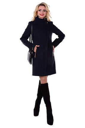 Женское стильное осеннее пальто арт. Эльпассо Турция элит 6687, фото 2