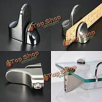 Металлическая съемная полка-держатель кронштейн для стеклянных или деревянных полок