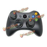 Высокое качество 2.4 ГГц черный беспроводной игровой контроллер джойстика для Xbox 360