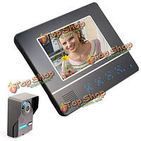 Эннио sy811fa11 7 дюймов TFT цветной экран видео домофон дверной звонок домофона