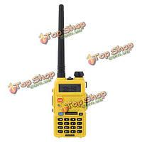 Baofeng UV-5R двухдиапазонный желтый портативный приемопередатчик домофон