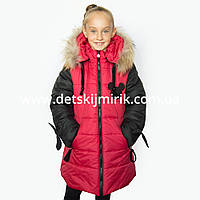 """Зимнее пальто для девочки """"Микс"""" от производителя, 32,38"""