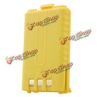 1800мАh оригинальный желтый литий-ионный аккумулятор для Baofeng UV-5r