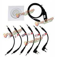 6в1 USB кабель для программирования программе адаптер для рации