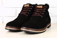 Мужские ботинки оксфорды замшевые. Зима. Мода. Стиль.