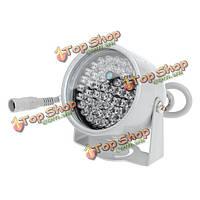 48LED ночного видения ИК инфракрасный прожектор свет лампы для CCTV камеры