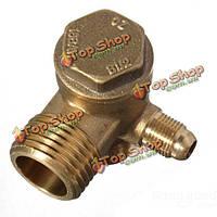 Обратный клапан воздушного компрессора латунь