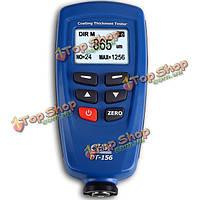 ДТ-156 цифровой лакокрасочного покрытия толщиномер тестер счетчика 0-1250um
