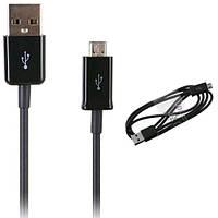 Дата-кабель USB-MicroUSB  Samsung ECC1DU4BBE N7100/I9300 black