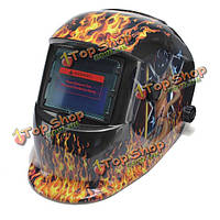 Автоматическое затемнение на солнечных батареях для сварщиков сварки шлем маску