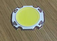 15Вт COB светодиод белый 6000К 90-100лм/Вт 300мА/51В подложка 27x24мм, фото 1